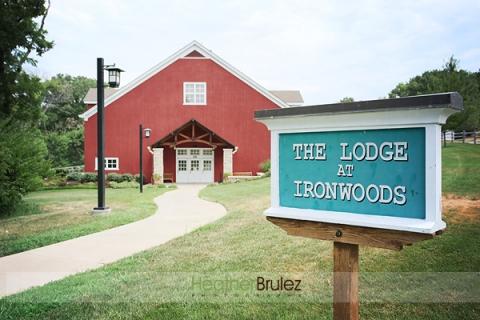 Lodge At Ironwoods Park Wedding Kay And Darin Kansas