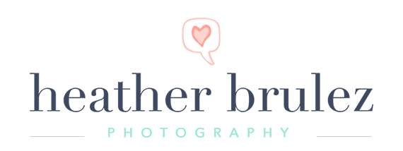 top Kansas City wedding photographer | Heather Brulez Photography logo